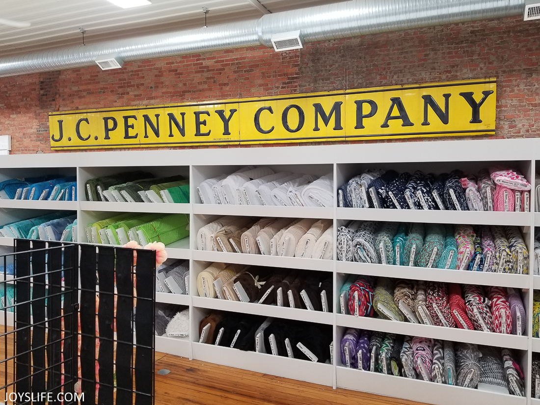 JC Penney Company Sign in Missouri Star