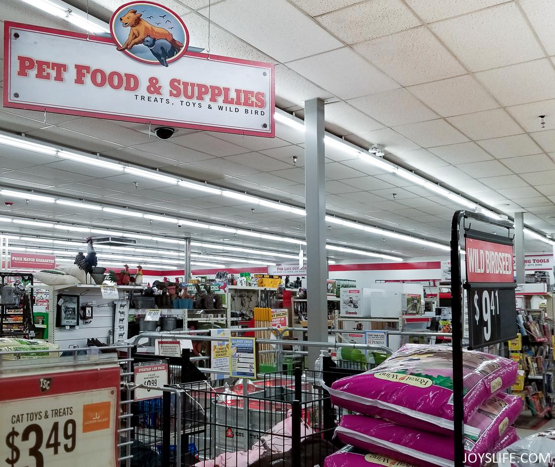 Pet Food and Supplies at TSC