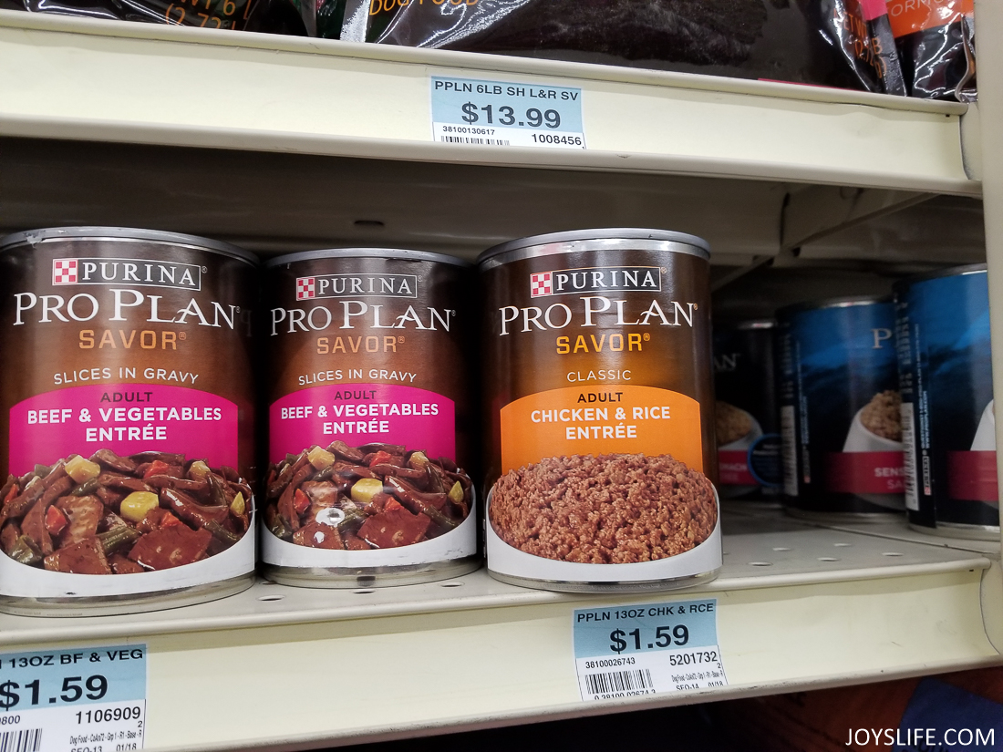 Purina Pro plan on the shelf at Tractor Supply Co