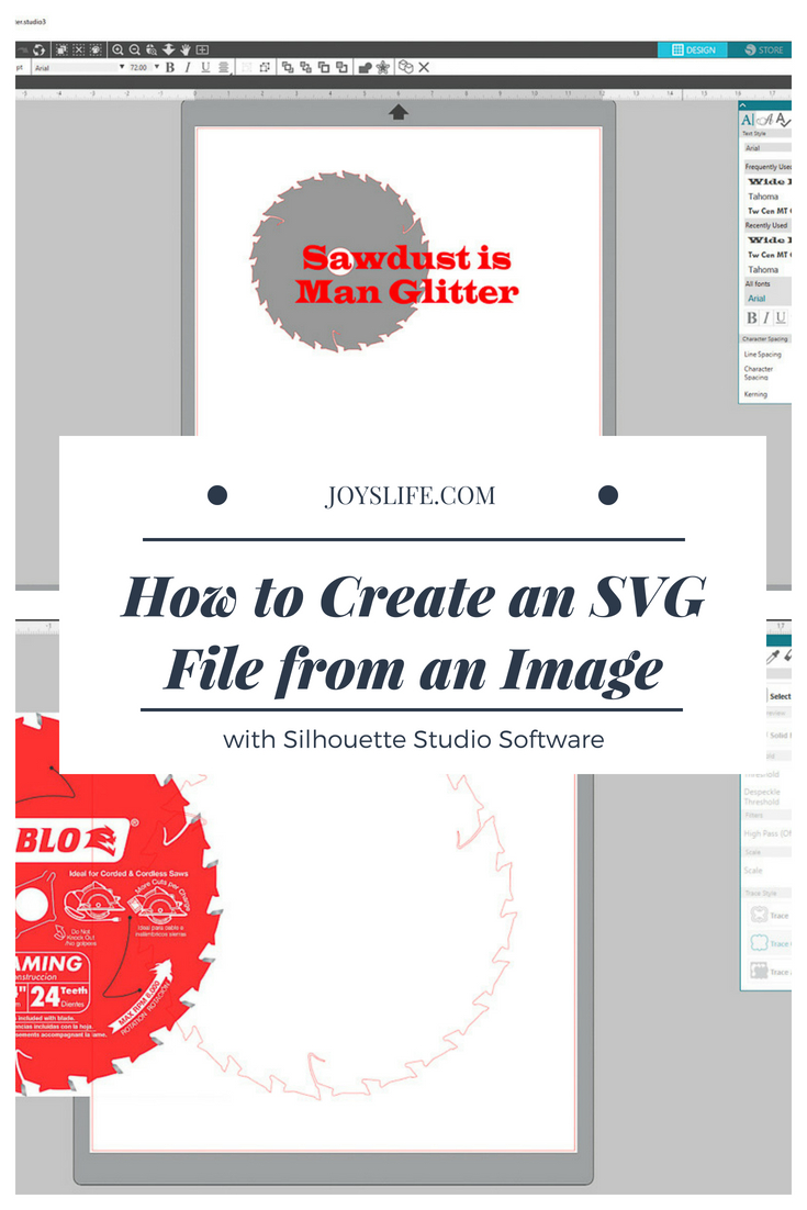 How to Create an SVG File from an Image with Silhouette Studio