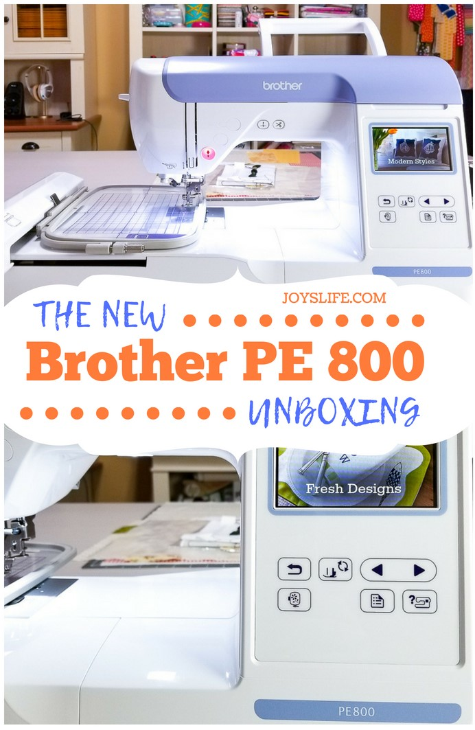 Brother PE 800 Embroidery Machine Unboxing #brotherPE800 #embroidery #machineembroidery