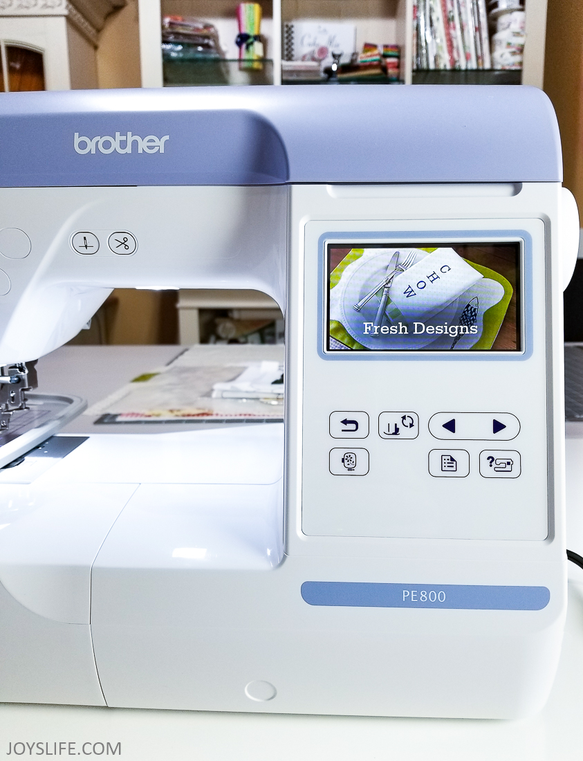 PE800 Screen movie #brotherPE800 #embroidery #machineembroidery