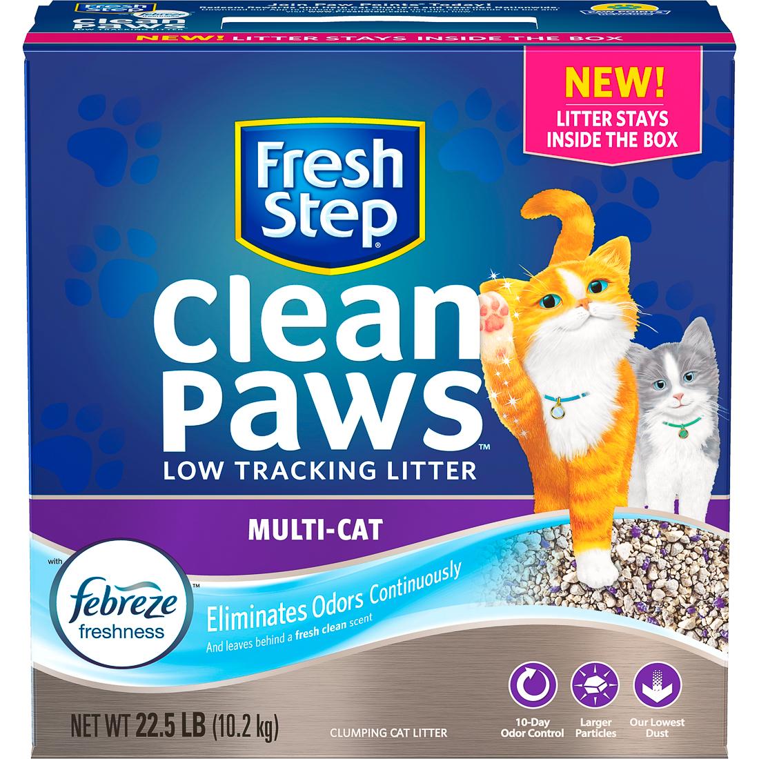 Fresh Step Clean Paws Multi Cat