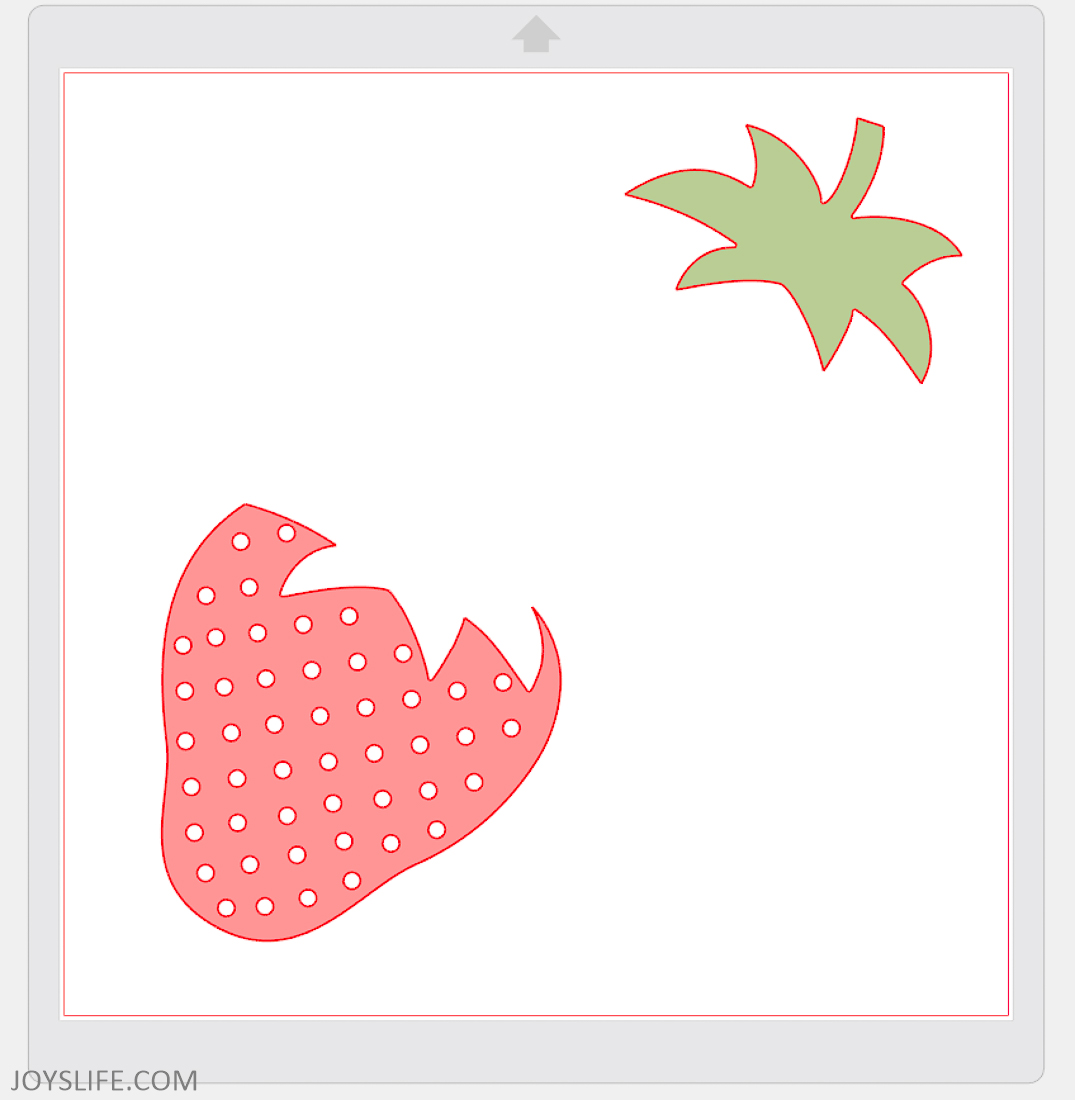 How to Prepare your Image for Fabric Cutting with the Silhouette Cameo 3 #strawberry #silhouettecameo #fabriccutting
