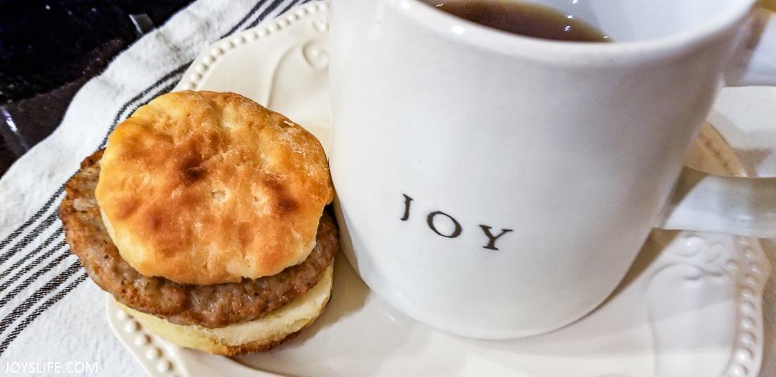 Sausage Biscuit Joy Mug