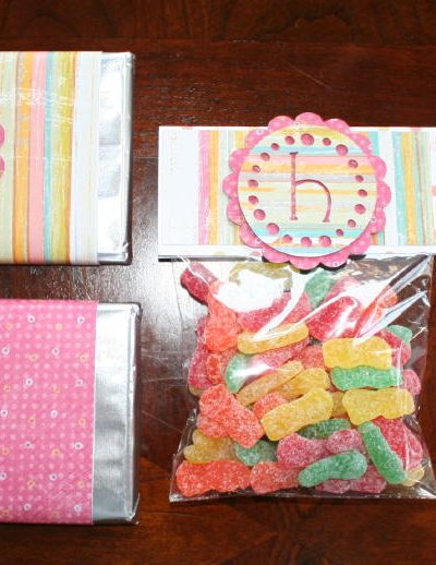 How to Customize a Candy Bar